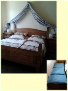 Das gemütliche Schlafzimmer ihrer FeWo in Hessen, Zeltnerhof
